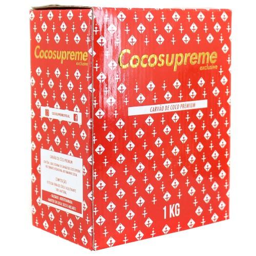 Carvão Narguile Cocosupreme Hexagonal 1kg