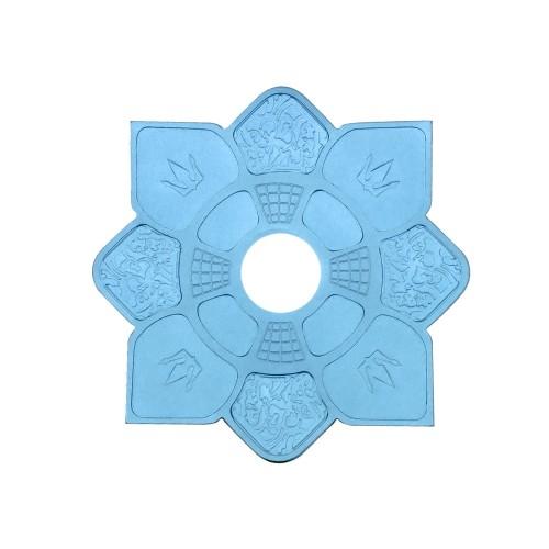 Prato Mini Imperial Hookah King Azul