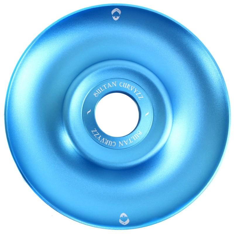 Prato Narguile Sultan Hookah Curvyzz Azul
