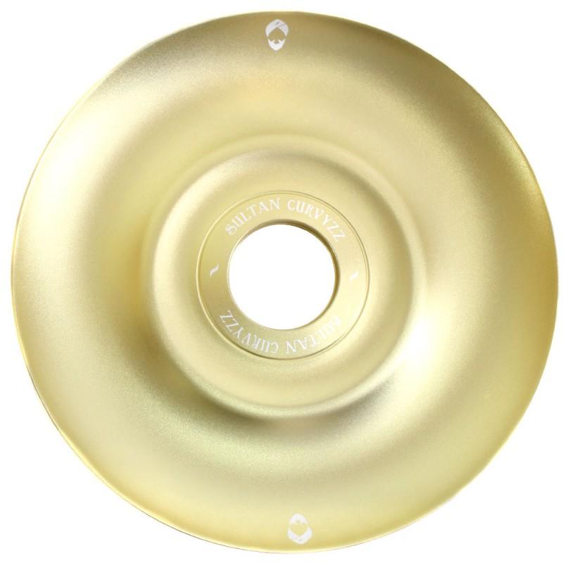 Prato Narguile Sultan Hookah Curvyzz Dourado