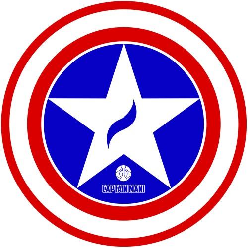 Tapete para Base Arguilebr Capitão América