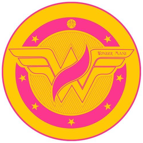 Tapete para Base Arguilebr Wonder Woman Mulher Maravilha