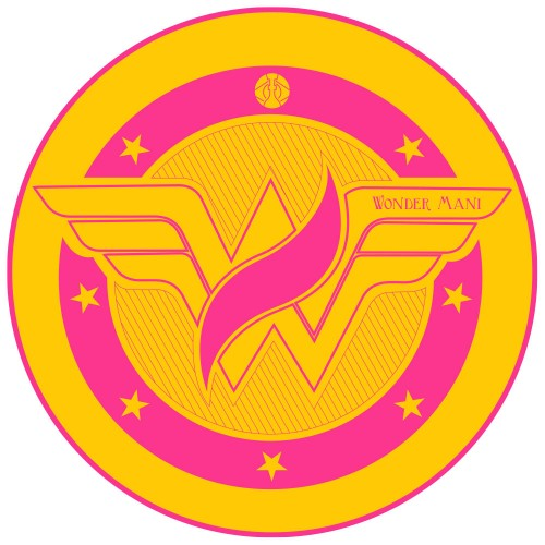 Tapete para Base Arguilebr Mani Sultan Wonder Woman Mulher Maravilha