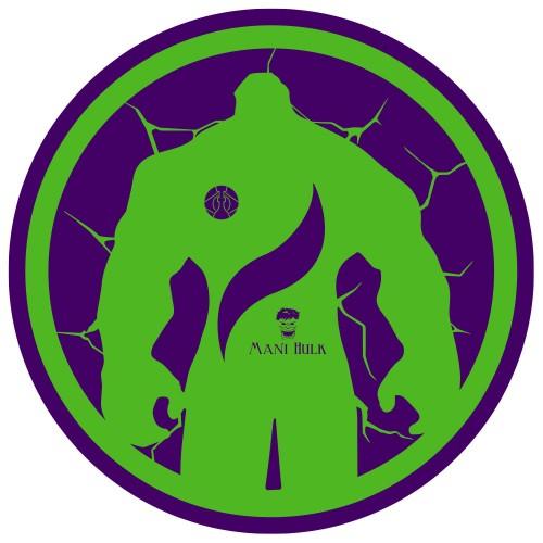 Tapete para Base Arguilebr Hulk