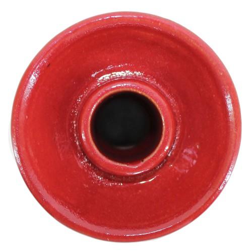 Ceramica Rosh Narguile Pro Hookah Gold School Vermelho