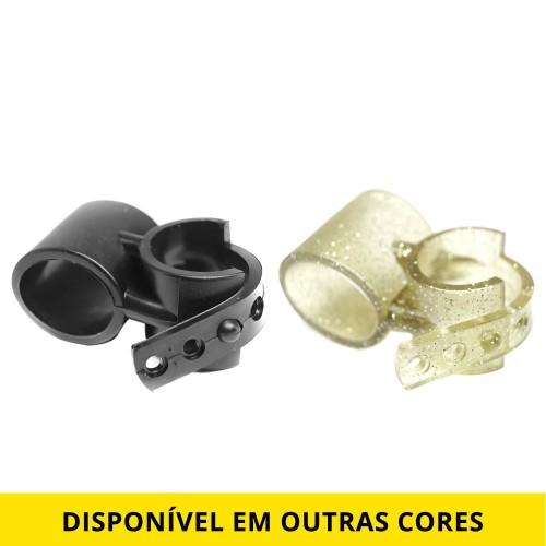 Suporte para Mangueira de Narguile Smart Holder Preto, Transparente, Dourado