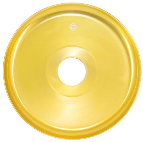 Prato Narguile Amazon New Universal Dourado
