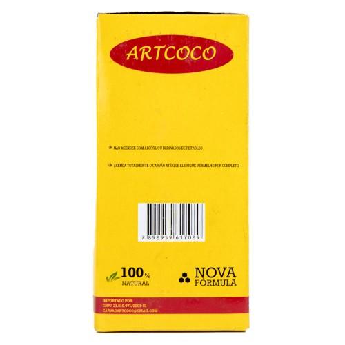 Carvão Narguile Artcoco Hexagonal 1kg