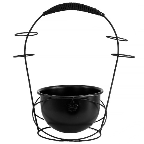 Holder de Carvão Wire Hookah Preto