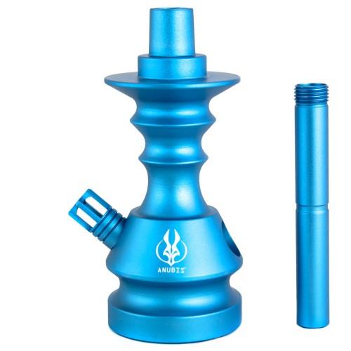 Stem Narguile Pequeno Anubis Velvet Little Monster Azul Bebe Fosco