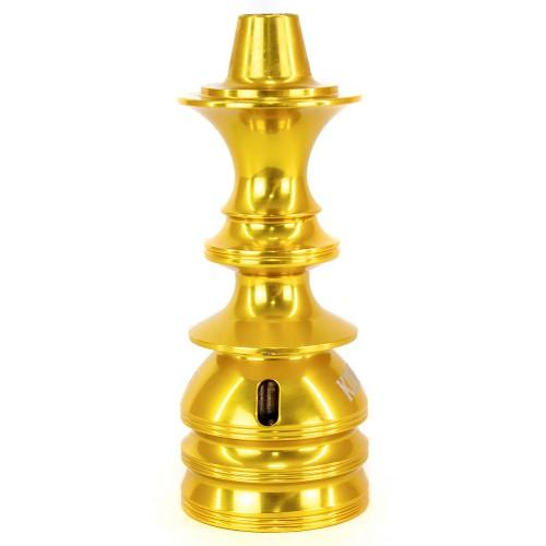 Stem Narguile Pequeno Amazon Kombat Dourado