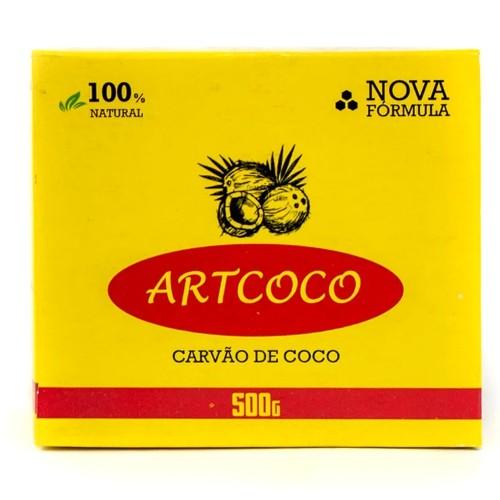 Carvão Narguile Artcoco Hexagonal 500g