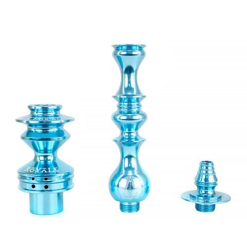Stem Narguile Grande Hookah King Royale Azul