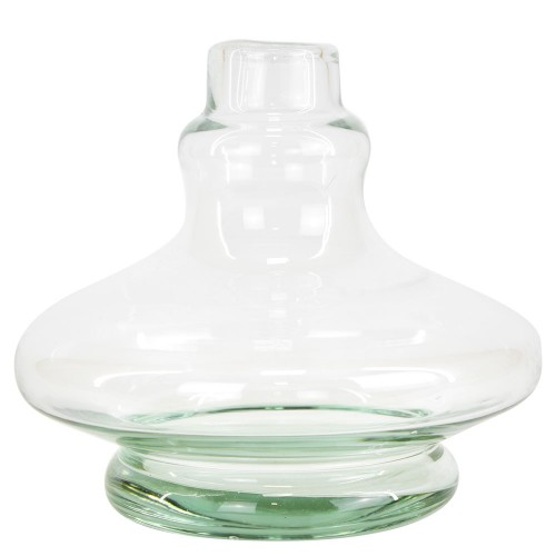 Vaso Narguile Pequeno Aladin Genie Transparente
