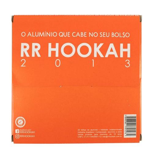Papel Alumínio RR Hookah Foil 50 folhas