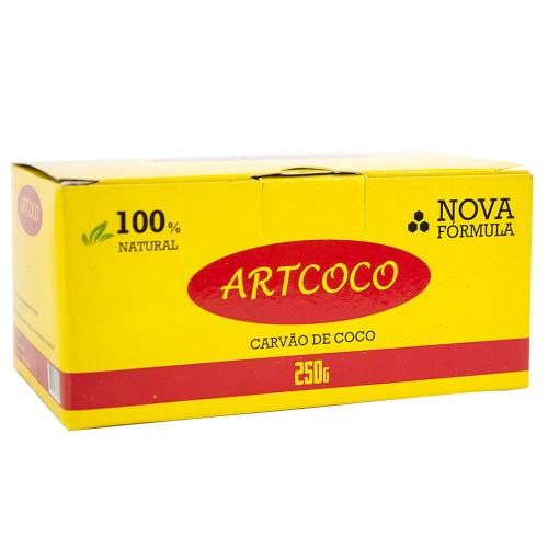 Carvão Narguile Artcoco Hexagonal 250g