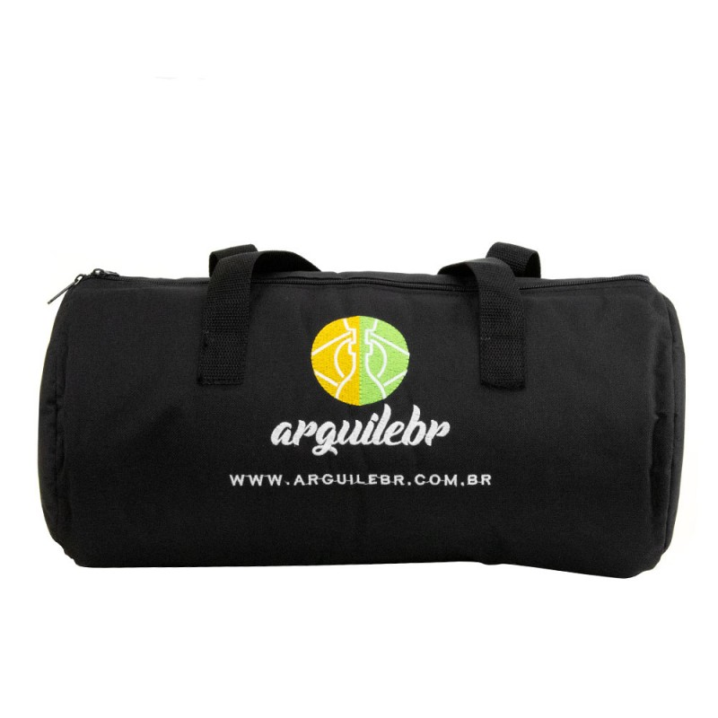 Bolsa para Narguile Pequeno Preta ArguileBr 40cm