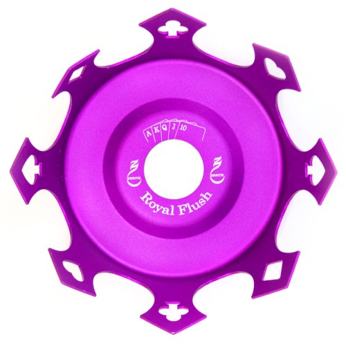 Prato Crown Coroa Zenith Royal Flush Roxo