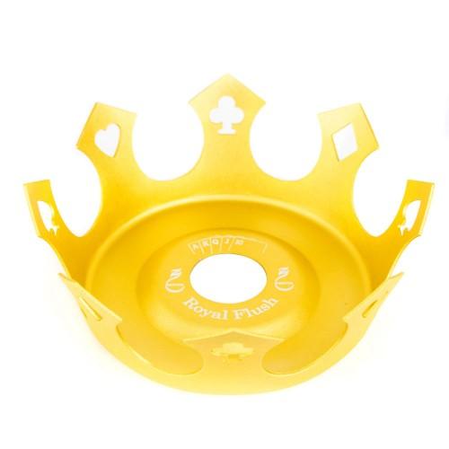 Prato Crown Coroa Zenith Royal Flush Dourado