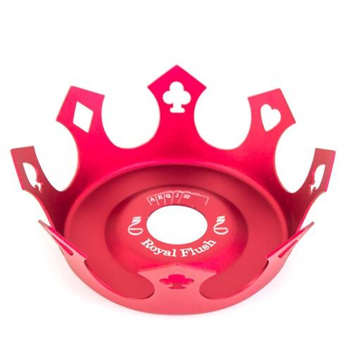 Prato Crown Coroa Zenith Royal Flush Vermelho