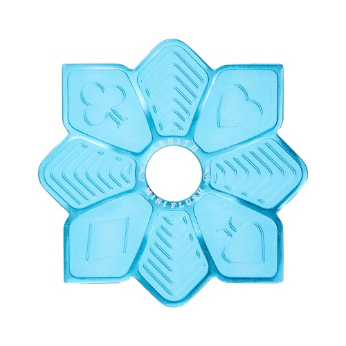 Prato Estrela Mini Zenith Flush Azul Bebe