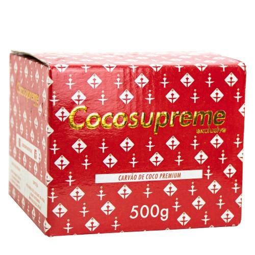 Carvão Narguile Cocosupreme Hexagonal 500g
