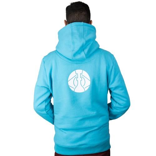 Moletom ArguileBr Azul Logo Branca