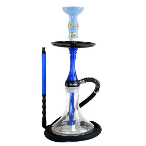 Narguile Pequeno VGOD Premium Cancun Azul Rosh Alusi Kiso Azul Bebe