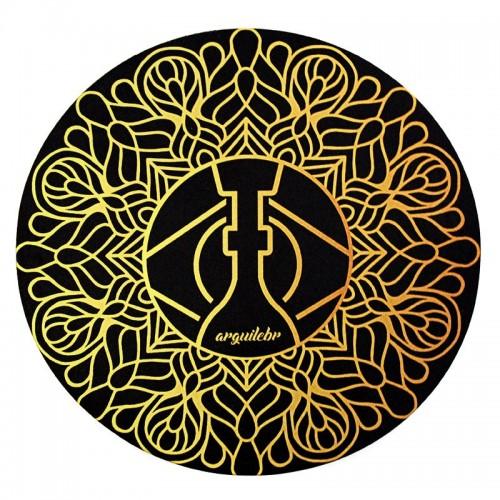 Tapete para Base Arguilebr Mandala Dourado