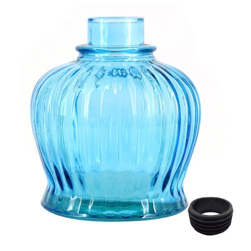 Vaso Narguile Pequeno QT Azul