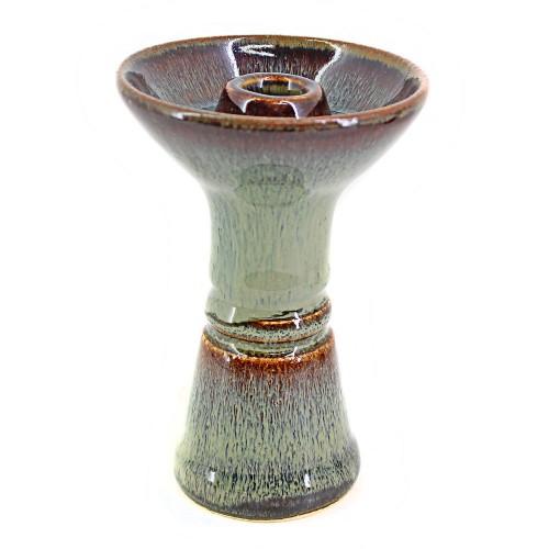 Ceramica Rosh Narguile Monge Hookah Himalaia Craft Verde