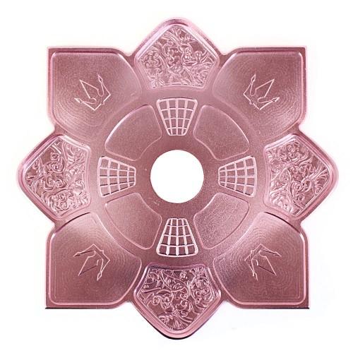 Prato Narguile Hookah King Imperial Rosa Rose