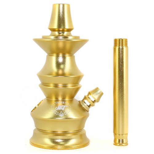 Stem Narguile Pequeno Jet Wire Hookah Dourado
