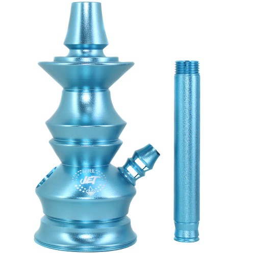 Stem Narguile Pequeno Jet Wire Hookah Azul Bebe