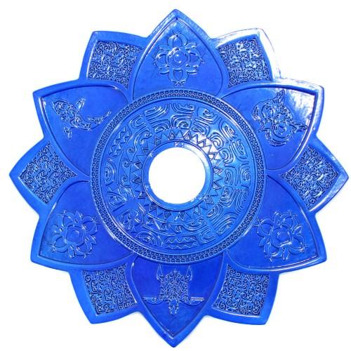 Prato Narguile Amazon New Maori Azul