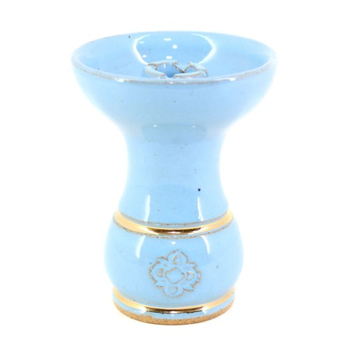 Ceramica Rosh Pequena Amazon Bowl Gold Azul Bebe
