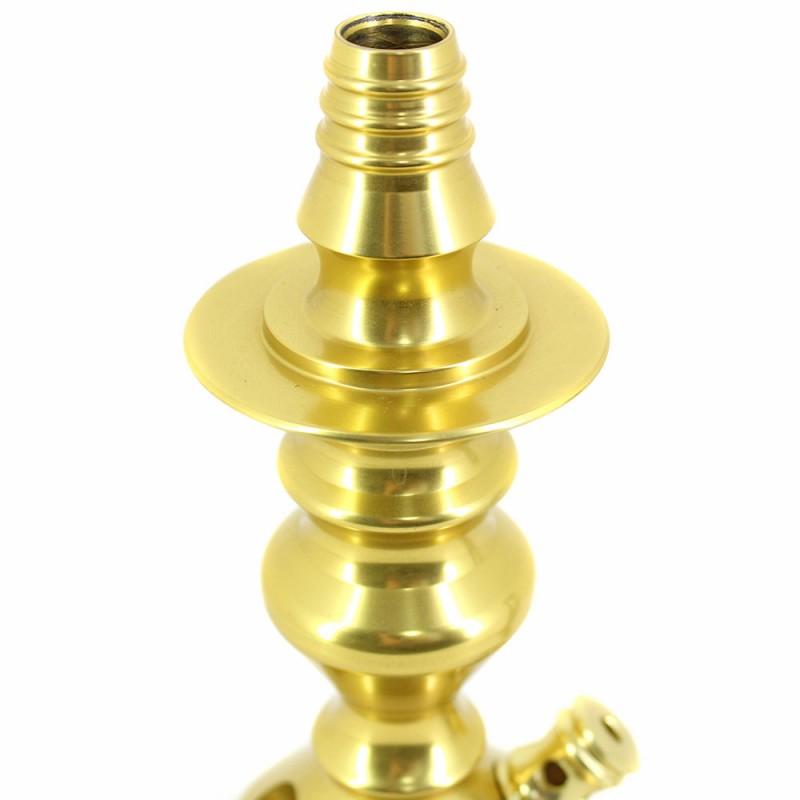 Stem Narguile Pequeno Hookah King Empire Dourado