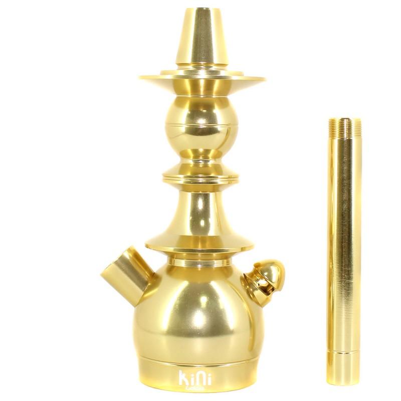 Stem Narguile Pequeno Sultan Kini Colors Dourado