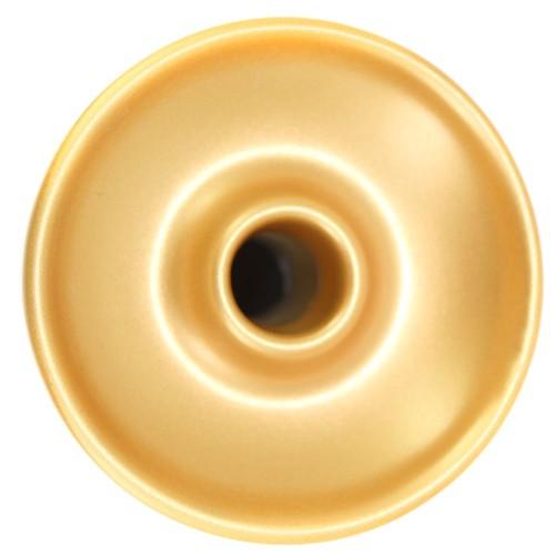 Ceramica Rosh Narguile Seven Bowl Dourado e Preto
